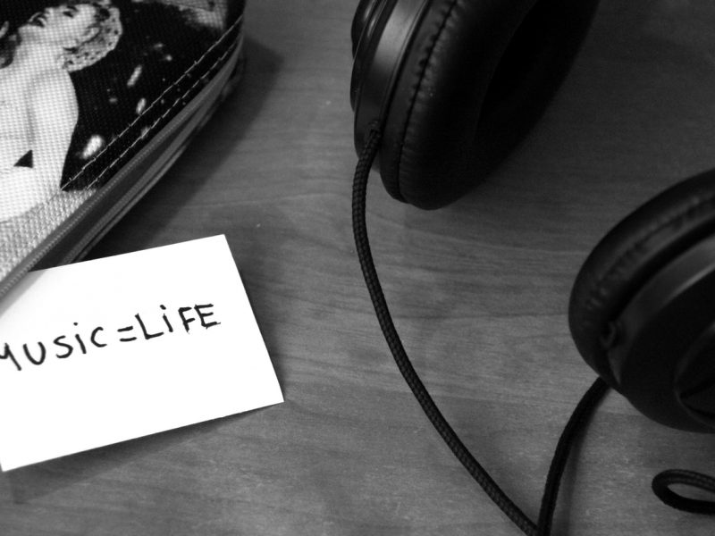 Musiken är en passion i livet